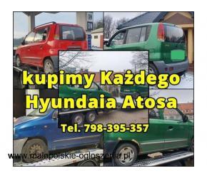 Kupię każdego Hyundaia Atosa w każdym stanie, cała Polska